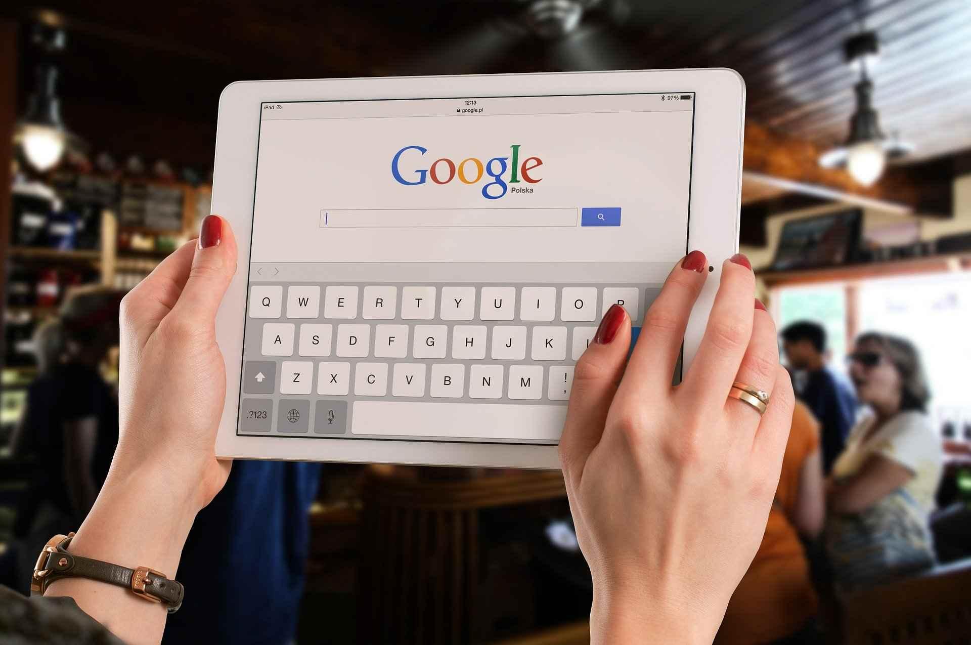 pesquisa organica google