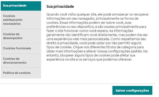 privacidade com análise de dados airbnb
