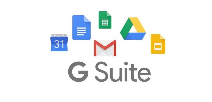 google-g-suite para gerenciamento de times e produtividade
