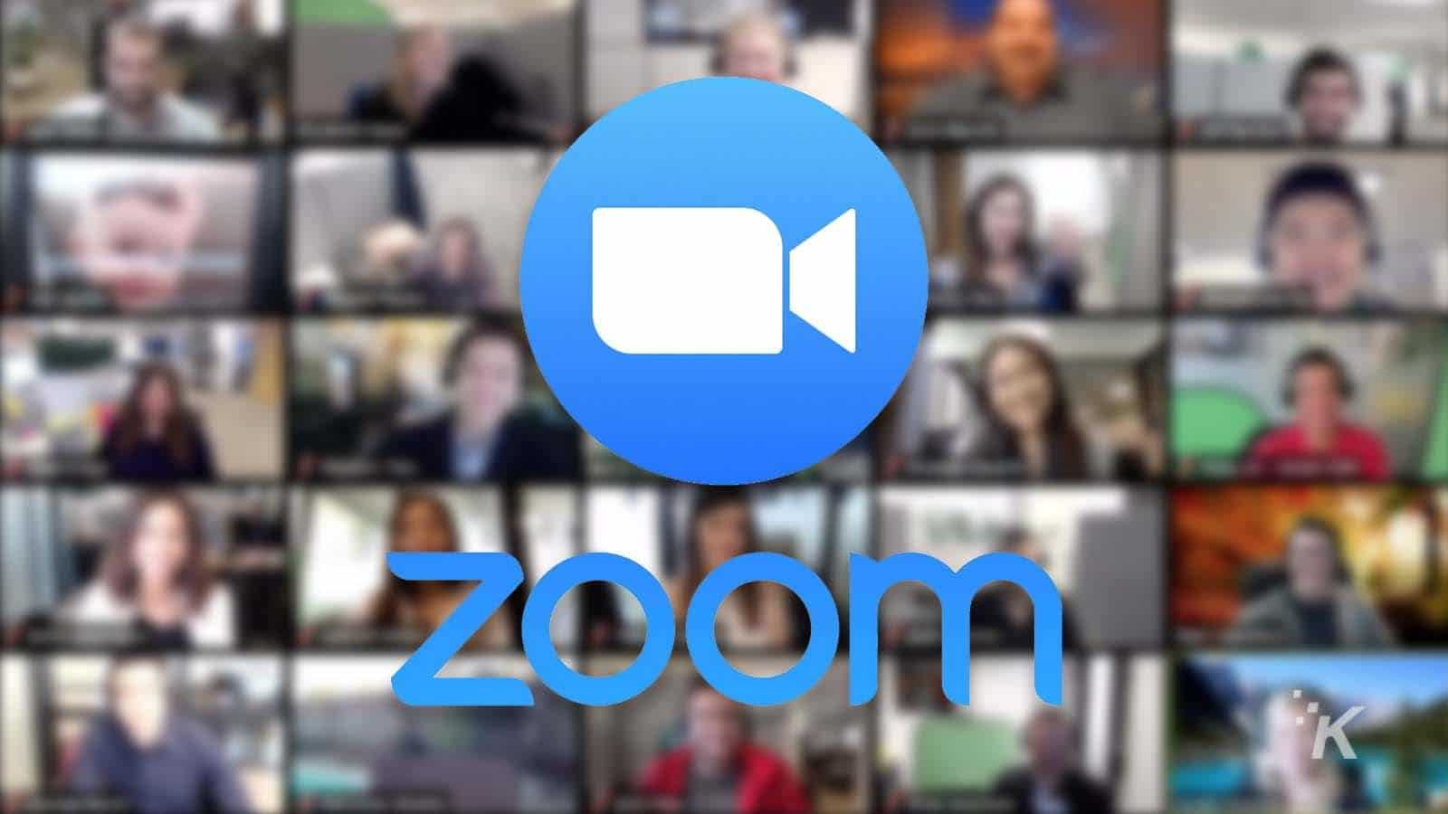 Zoom app para gestão de times