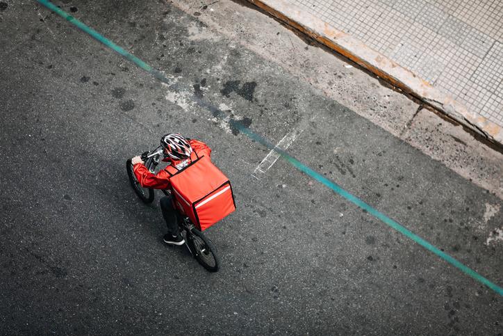 empreendedorismo andando de bicicleta